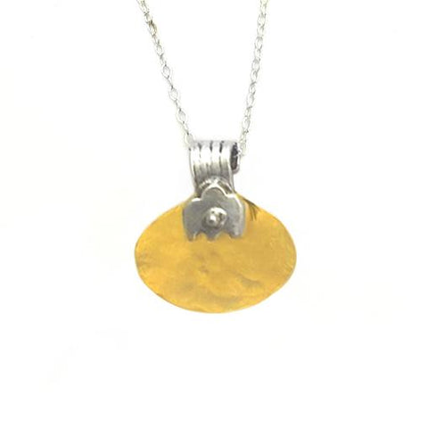Sterling Silver, Gold Filled Necklace
