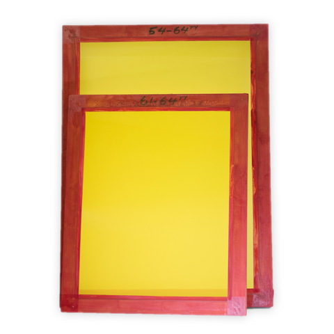 New Aluminium Frame Screens (For Screen Printing / Silk Screening)