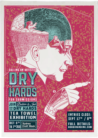 DRY HARDS: A Tea Towel Exhibition for Sydney Craft Week 2018