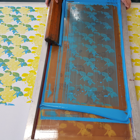 Design and Produce Fabric Screen Printing Course 8 weeks