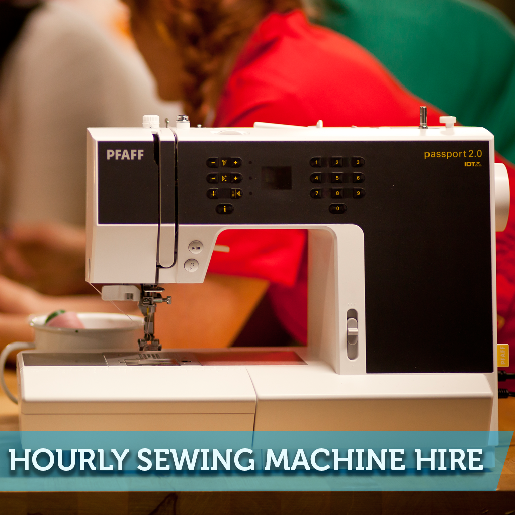 Sewing Machine Hourly Hire