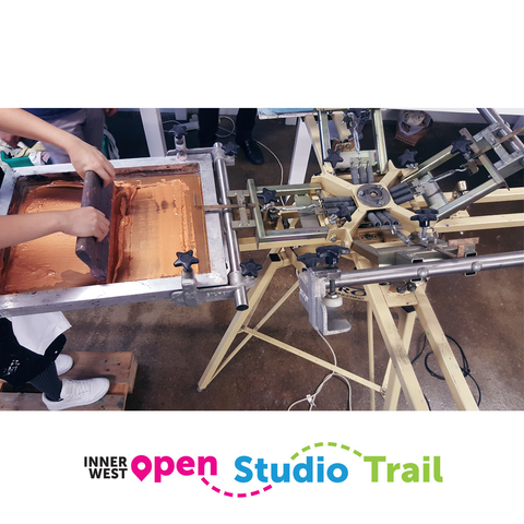 "Inner West Open Studio Trail | Free Demo ""How are images exposed onto a screen?"""