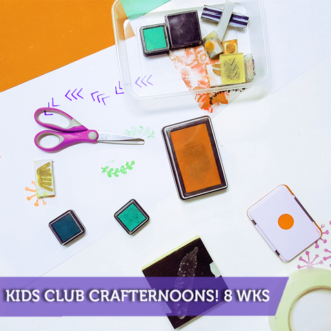 Kids Club Crafternoons with Mrs C