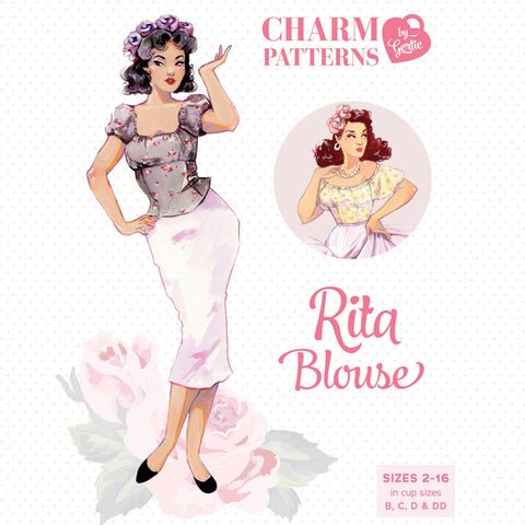 Charm Patterns by Gertie - Rita Blouse