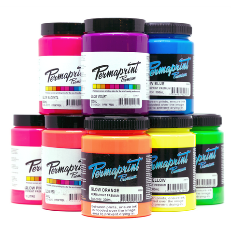 Permaprint Premium Poster Ink Glow Colours