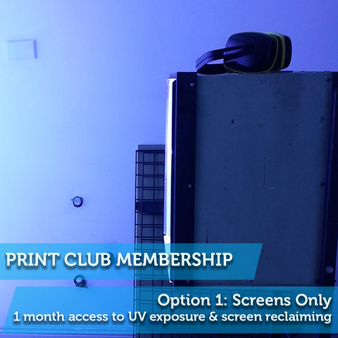Print Club Membership 1: Screens Only