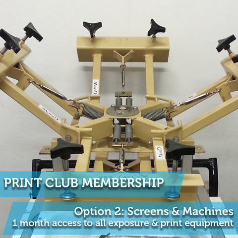 Print Club Membership 2: Screens and Machines