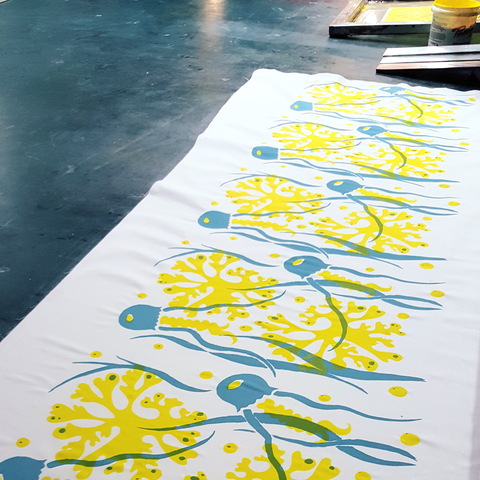 Stencil Play! 3hr Intro to Printing at Home