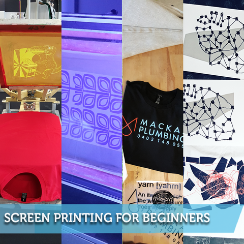 Screen Printing for Beginners (Emulsion / UV Exposure) 1 Day Class