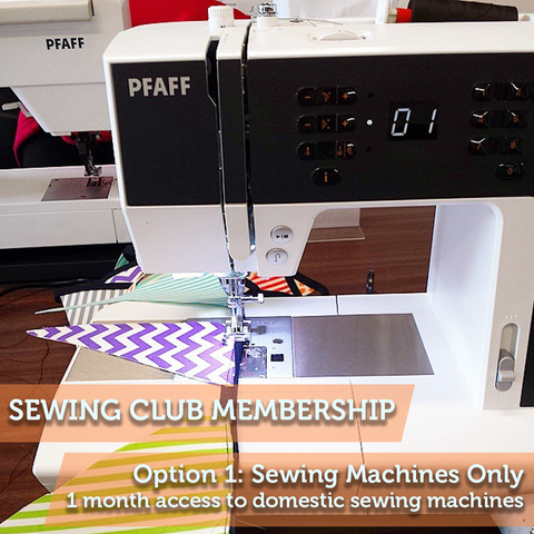 Sewing Club Membership 1: Domestic Sewing Machines Only