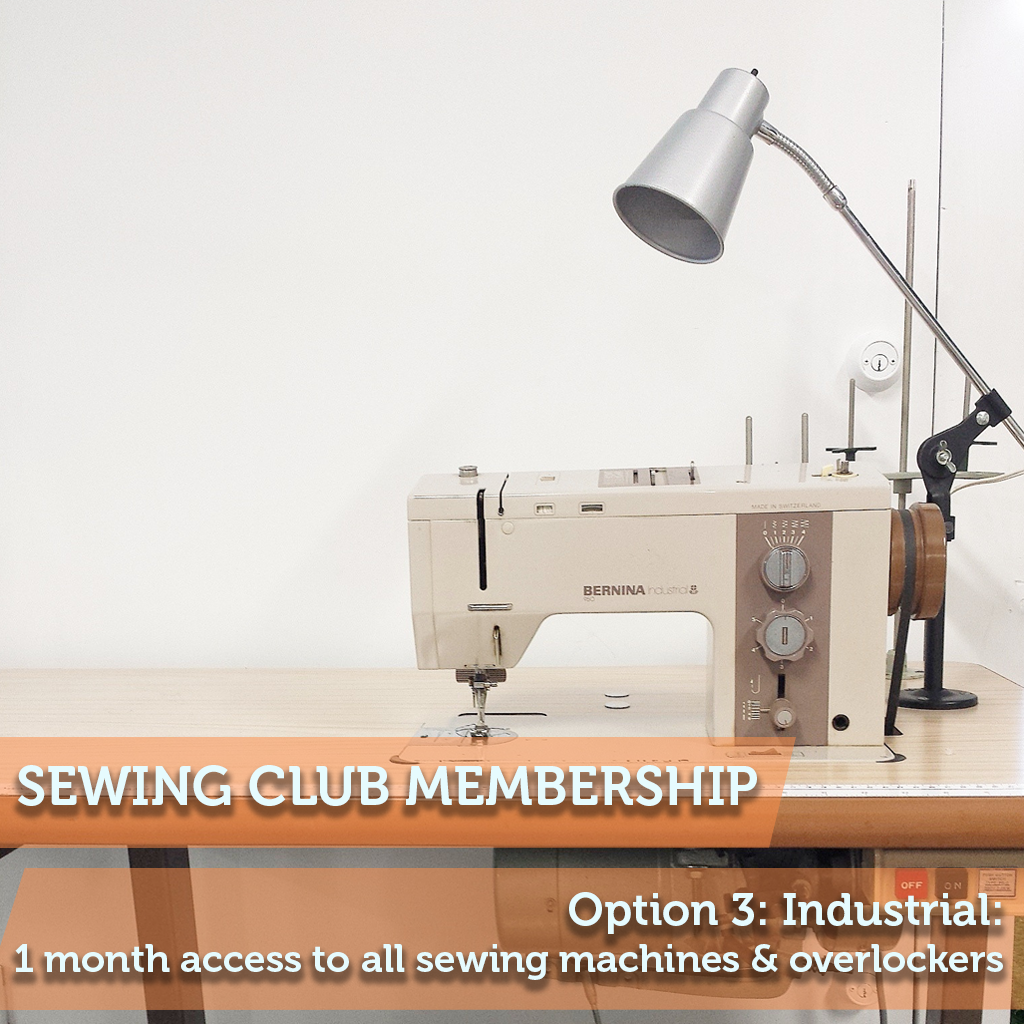 Sewing Club Membership 3: Industrial
