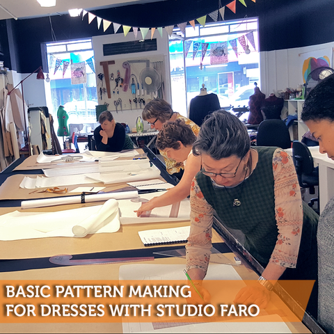 Basic Pattern Making for Dresses with Studio Faro