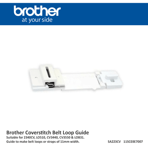 Brother Coverstitch Feet