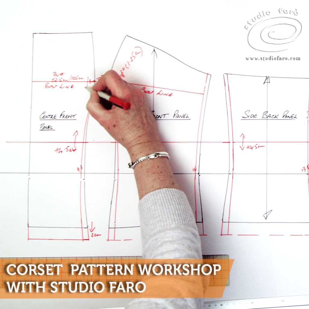 1 day corset pattern workshop with studio faro bobbin and ink jeuxipadfo Image collections