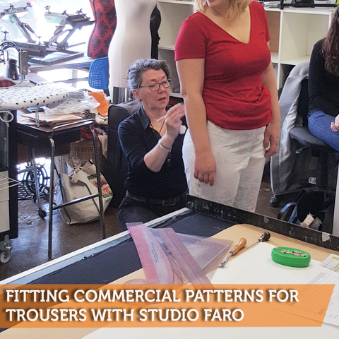 Fitting Commercial Patterns for Trousers with Studio Faro