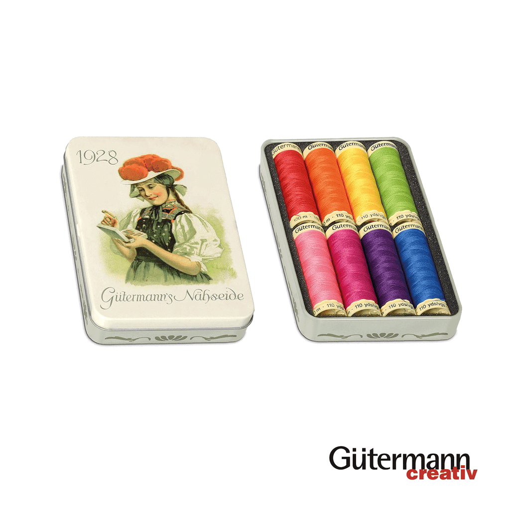 Gutermann Nostalgic Box Sew-All Thread 100m Polyester