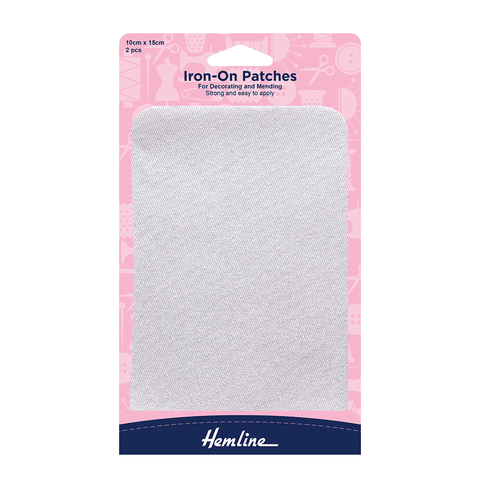 Hemline Iron-On Patches for Mending