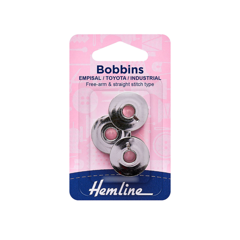 Hemline Bobbins for Sewing Machines (Various Brands / Models)