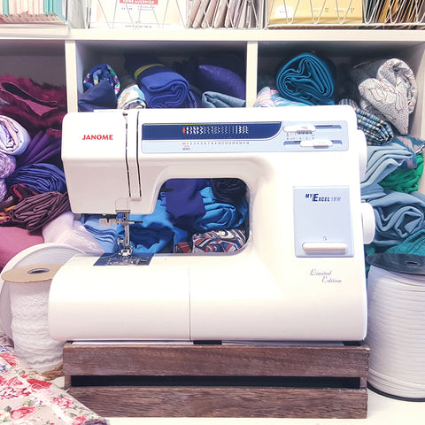 Janome My Excel 18W Reconditioned Domestic Sewing Machine - 753432143