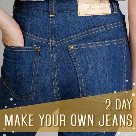 *NEW DATES* Make Your Own Jeans 2 Day Sewing Course