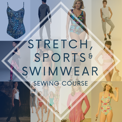 *NEW DATES* Stretch, Sports and Swimwear 2 Day Sewing Course
