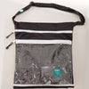 Eco-friendly wet/dry bag with detachable back pocket