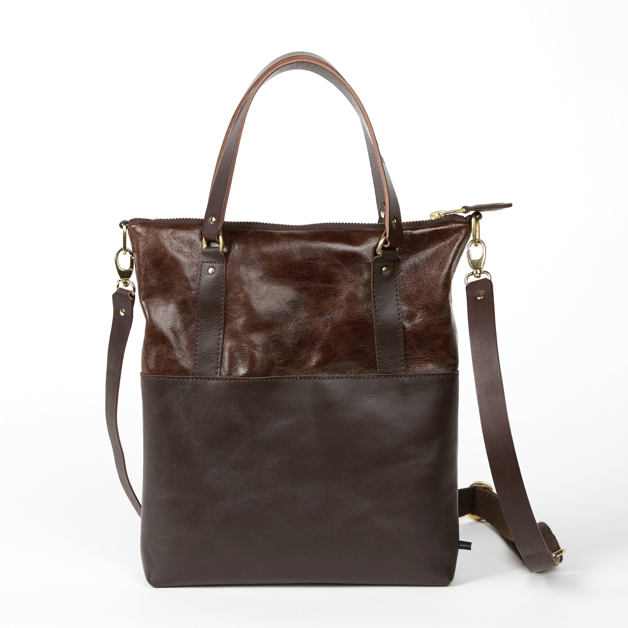 ANYA  <br/> Distressed Leather <br/> Chestnut