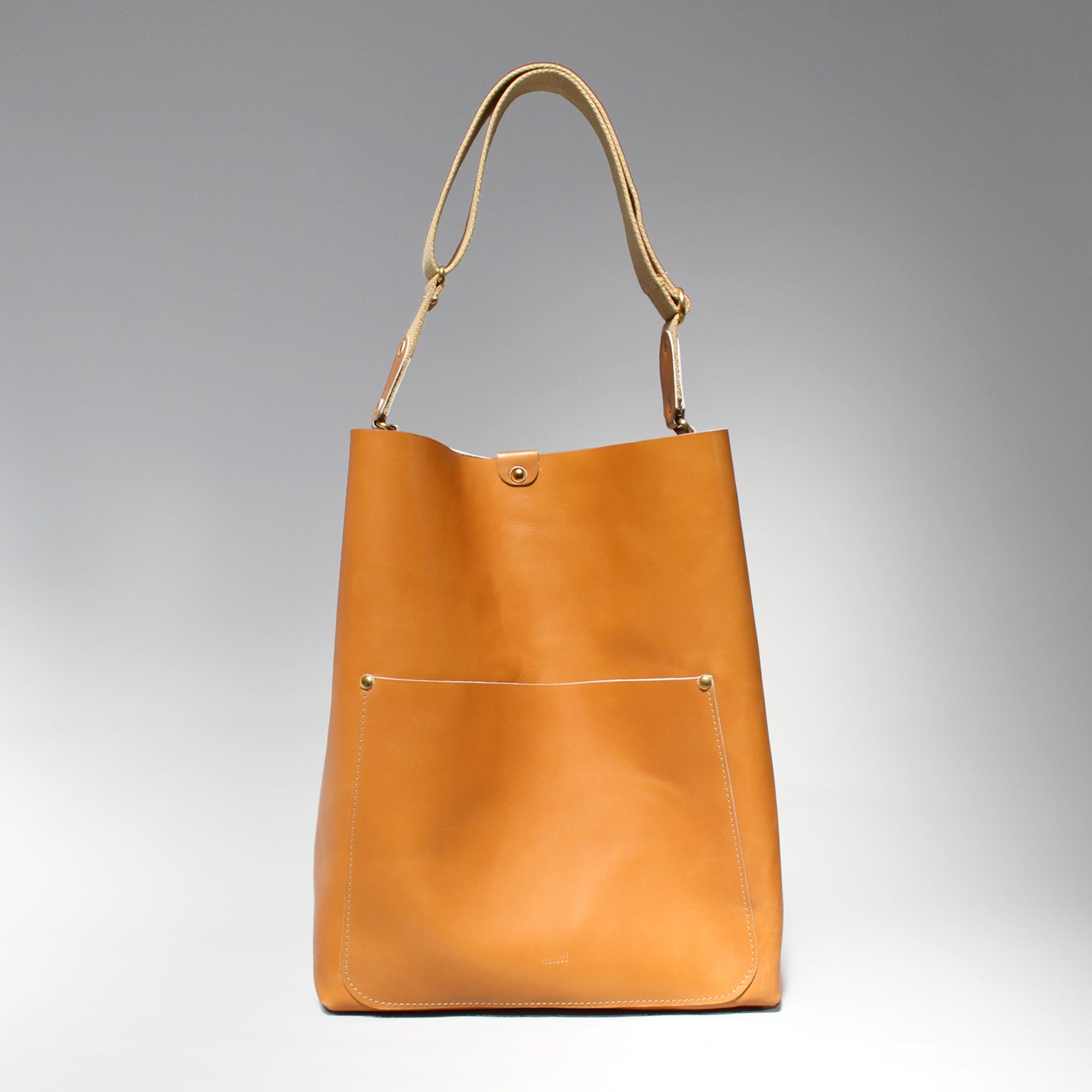 ELIZA  <br/> Leather Tote Bag <br/> Tan