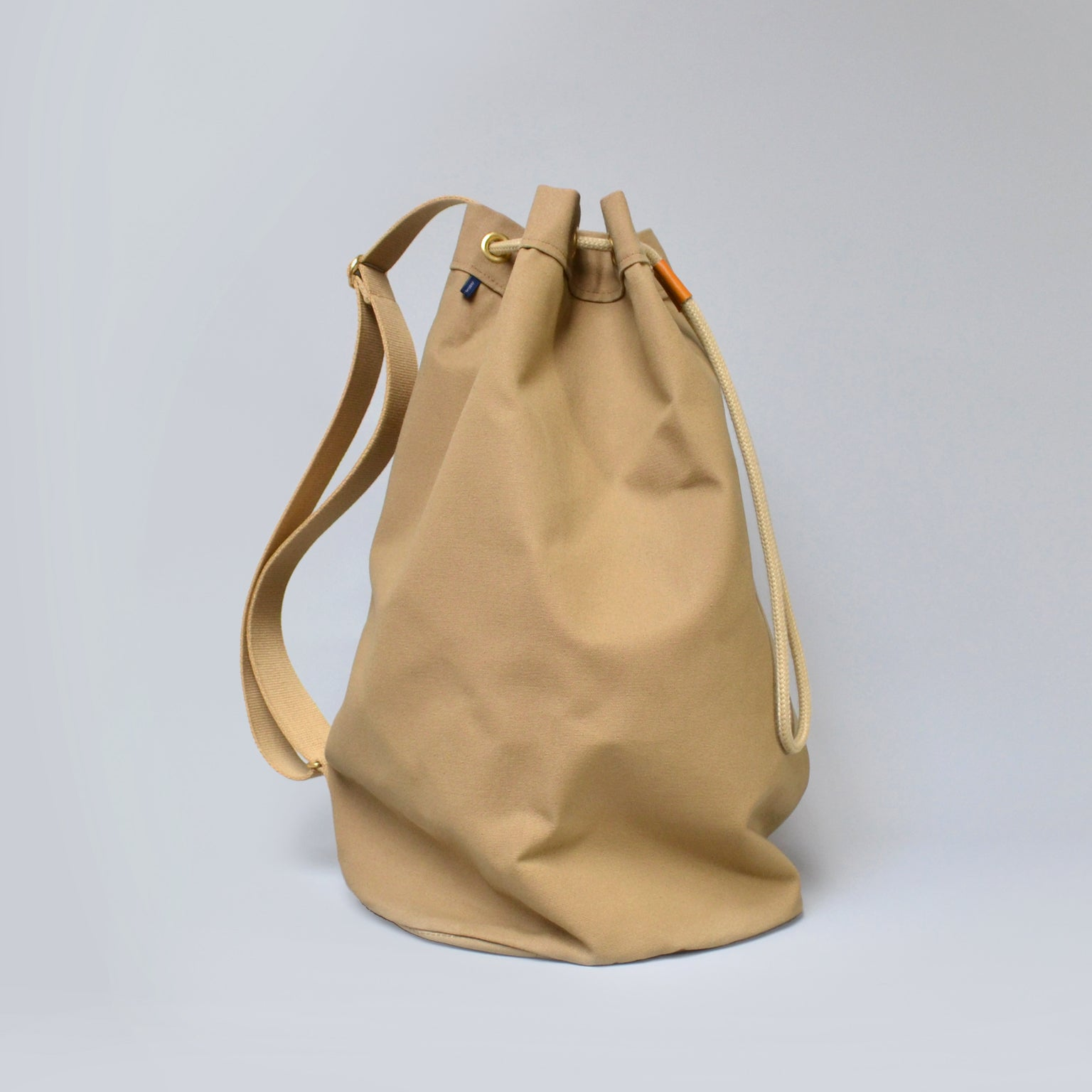 LOGAN  <br/> Canvas Satchel <br> Camel