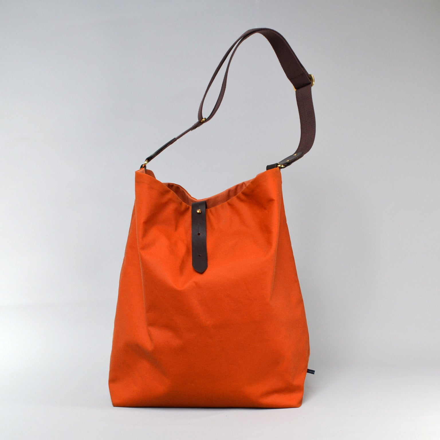 NOVA <br/> Waxed Tote Bag <br> Orange
