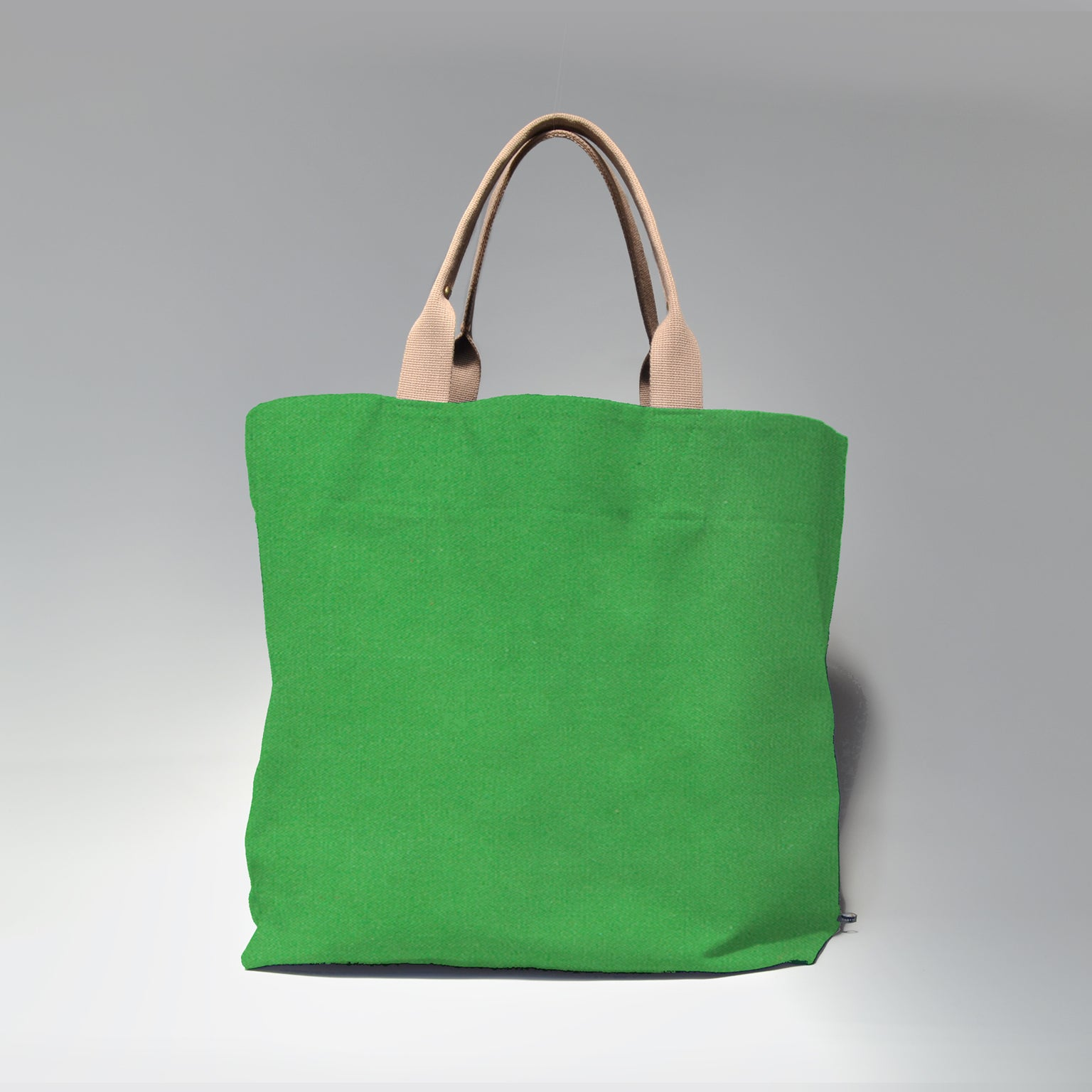 PABLO <br/> Canvas Tote Bag <br> Apple Green