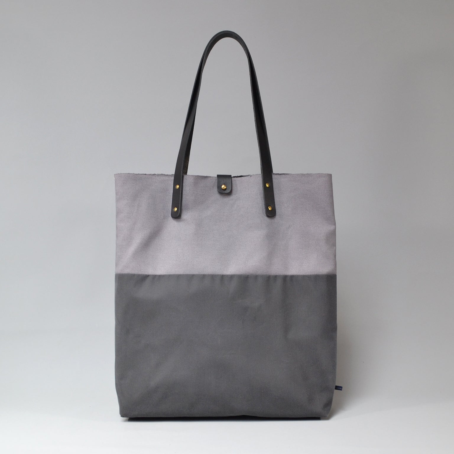 PILAR Tote Bag <br/> Grey & Charcoal