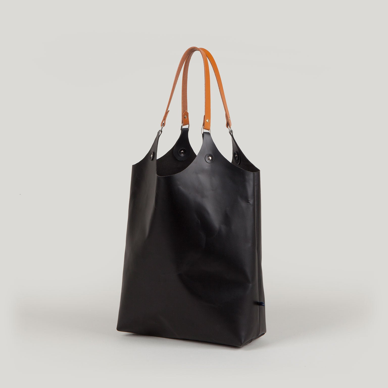 MARY Leather Tote - black
