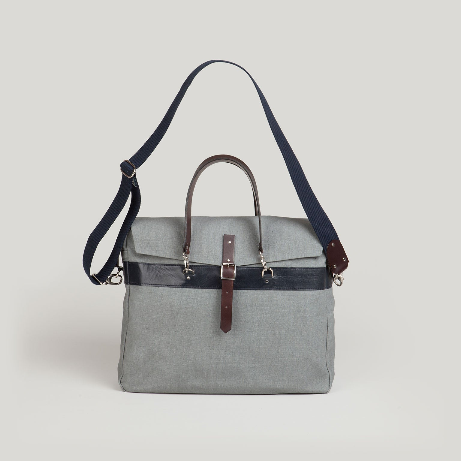 RUFUS Satchel Brief <br/> Grey