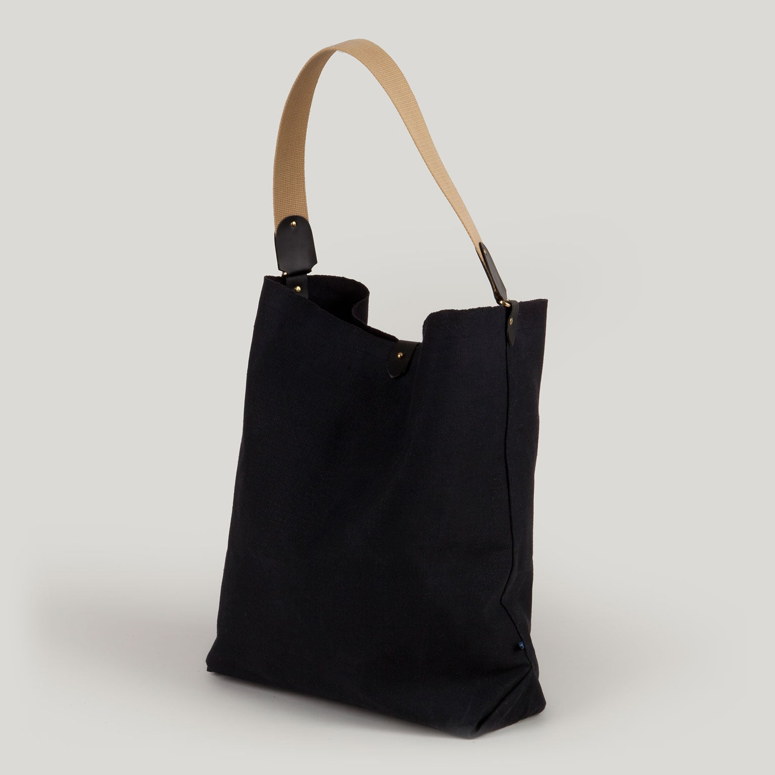 SCARLETT <br/> Canvas Tote Bag <br/> Black