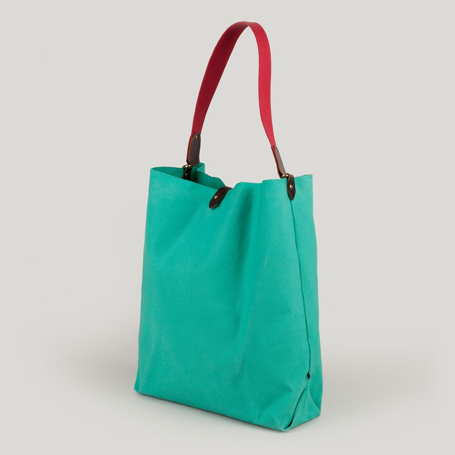SCARLETT <br/> Canvas Tote Bag <br/> Verdigris
