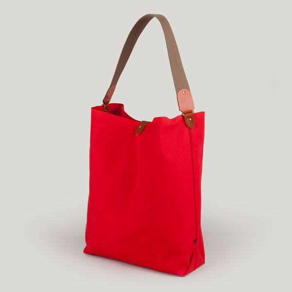 SCARLETT <br/> Canvas Tote Bag <br/> Red