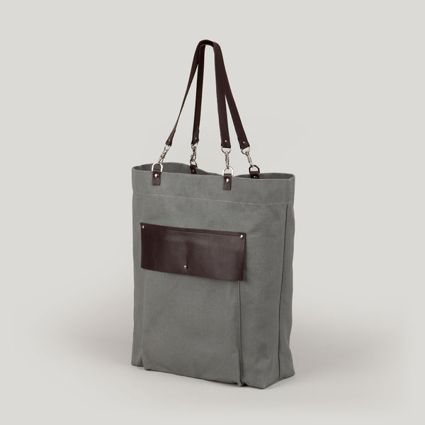 AVA Tote Bag <br/> Grey