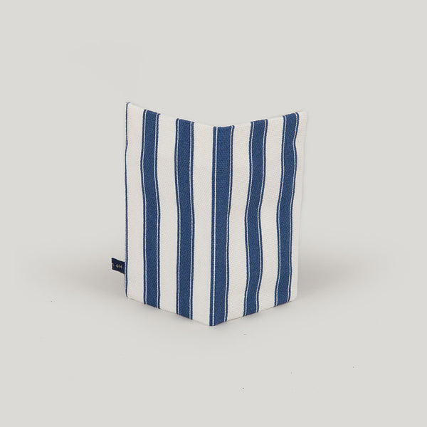 Travel Wallet Fairground Stripe - blue & white pole