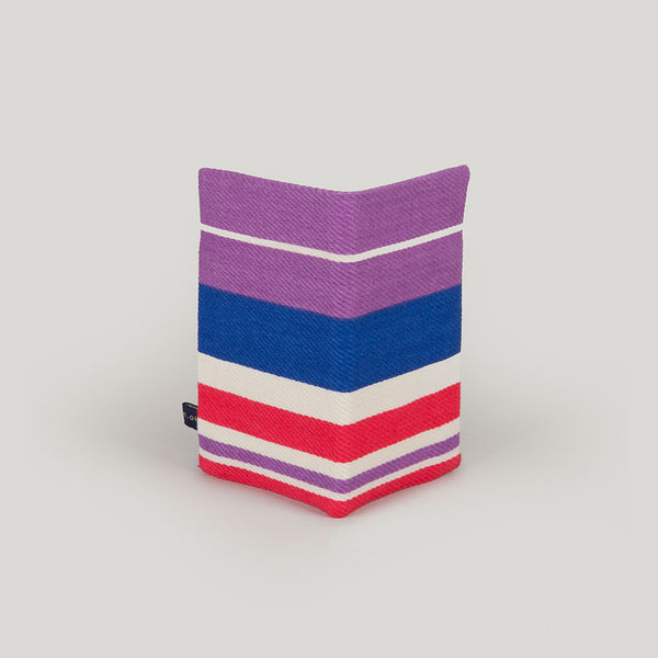 Travel Wallet Fairground Stripe - multicolour band