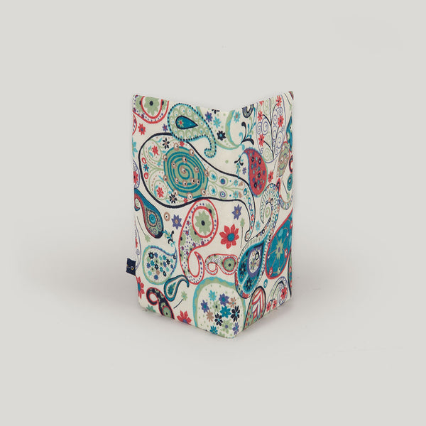 Travel Wallet Paisley - turquoise