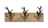 Three Branch Hook Rack - Artisanal Creations