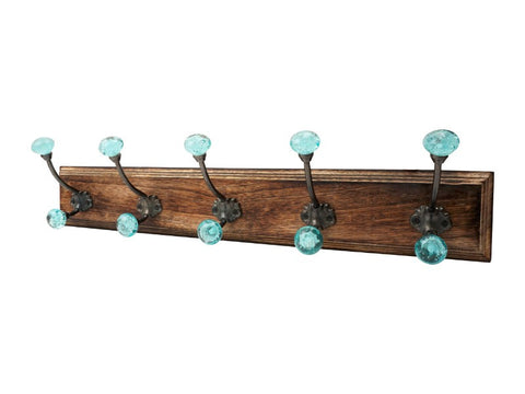 Bubble Glass Hook Rack - Artisanal Creations