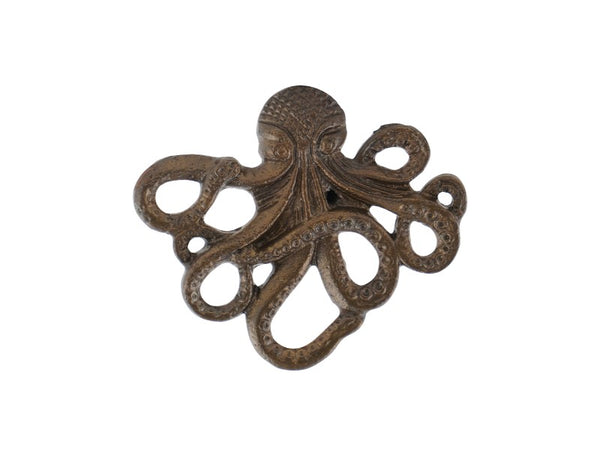 Set of 4 Octopus Knobs or Pulls - Artisanal Creations