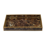 Marbled Decorative Tray - Artisanal Creations