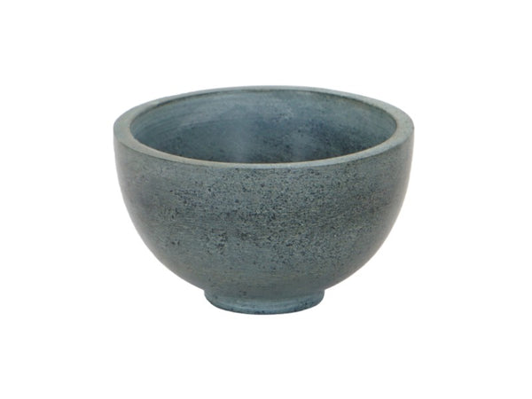 Set of 2 Grey Marble Dessert Bowls - Artisanal Creations