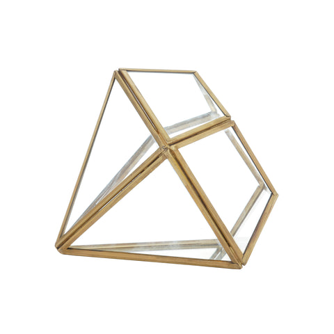 Pyramid Decorative Organizer for Jewelry, Trinkets and Accessories
