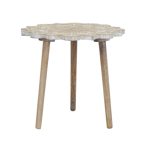 Myra Handcrafted End Table - Artisanal Creations