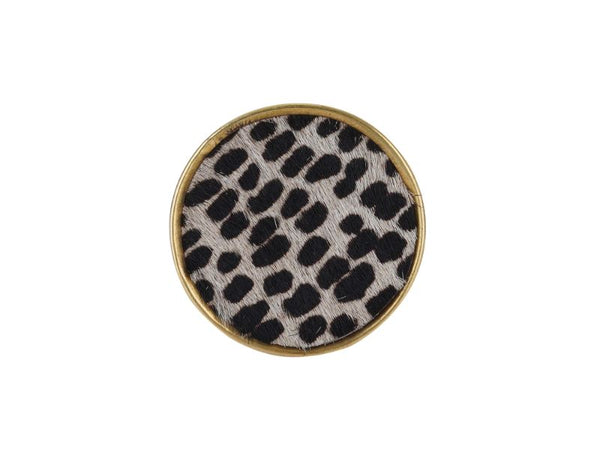 Leopard Knobs, Set of 4 - Artisanal Creations