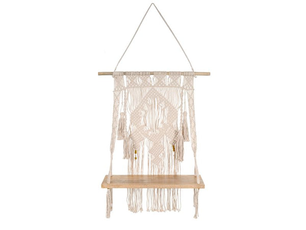 Macrame Wall Hanging Shelf (Egyptian) - Artisanal Creations